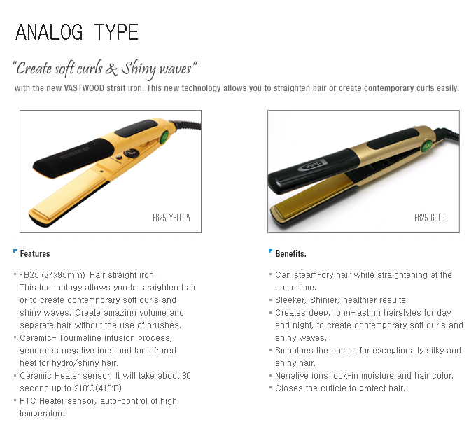 Analog Hair Iron
