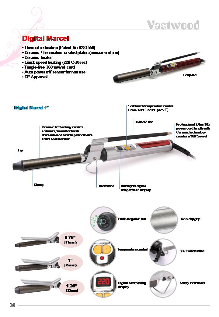 Digital Curling Iron Digital Curling Iron Supplier